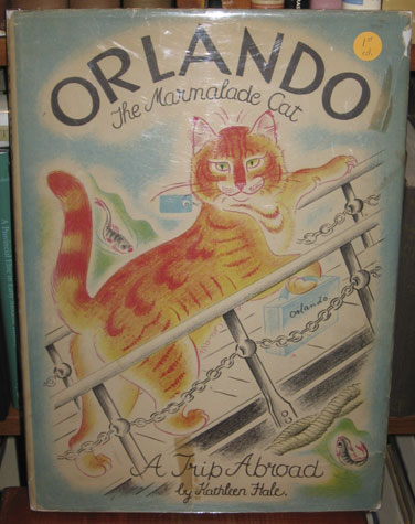 Orlando the Marmalade Cat : A Trip Abroad; First edition, first printing. Kathleen O. B. E. Hale.