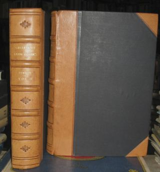 An Introduction to the Knowledge of Rare and Valuable Editions of the Greek and Latin Classics Together With an Account of Polyglot Bibles, Polyglot Psalters, Hebrew Bibles, Greek Bibles and Greek Testaments; the Greek Fathers, and the Latin Fathers. 4th ed. Large paper copy. 2 vols. Reverend Thomas Frognall Dibdin, F. R. S., D. D.