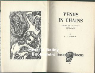 Venus in Chains : Under the Lash of Devil Law